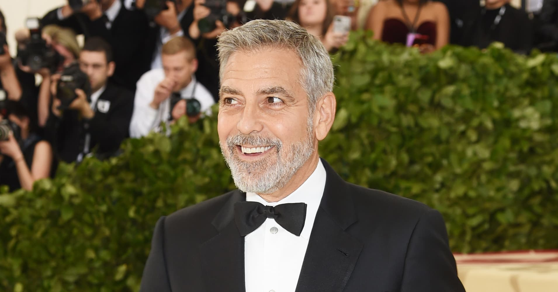 George Clooney is 2018 s highest paid actor   but not because of movies George Clooney