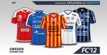 Sweden Superettan kits 2016