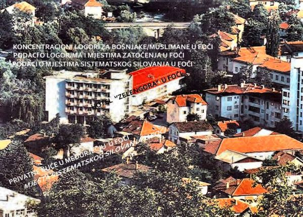 Foča 1992. - 1995. - konc logori za bošnjake