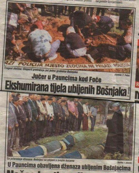 Foča 1992. - 1995. - ekshumacije