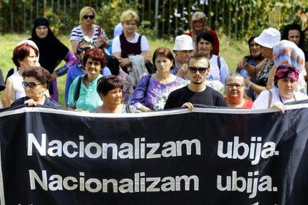 Foča - žrtve pred zloglasnim logorom Partizan