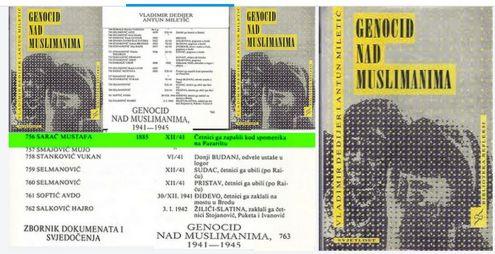 Genocid nad muslimanima 1941. - 1945. - dokumenti