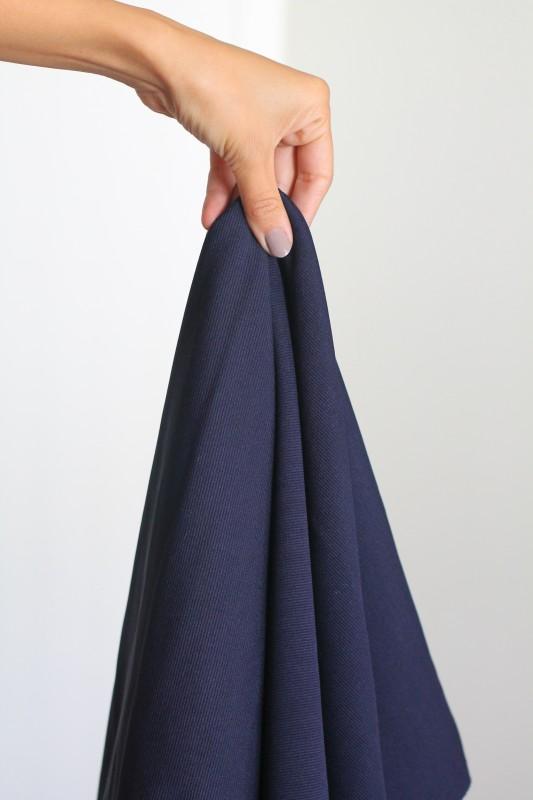 foggy dress blue fabric