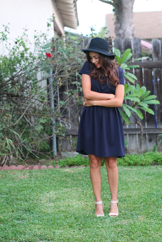 blue dress diy