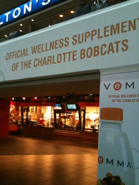 Official Wellness Supplements of Charlotte Bobcats