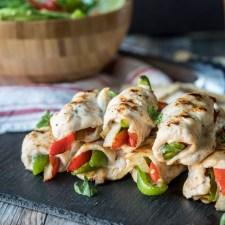 Chicken Fajita Roll Ups