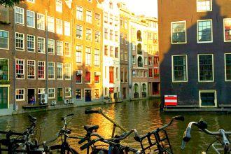 Häusser in Amsterdam