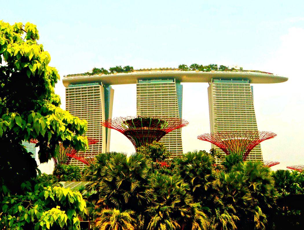 Marina Bay Sands, Singapur