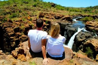 Ausblick Panorama Route, Südafrika