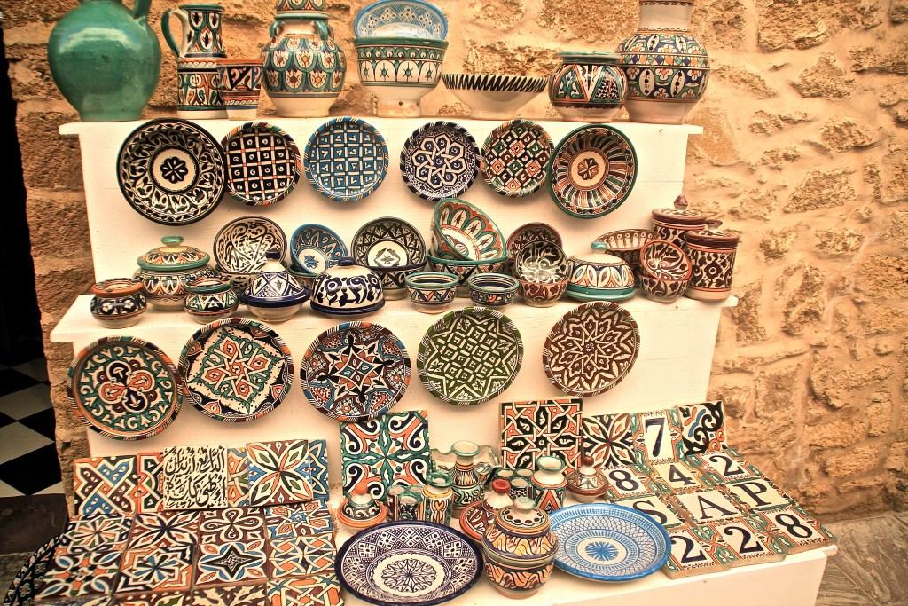 Läden in der Medina Essaouria