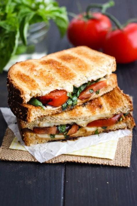 File 3 - Toasted Caprese Sandwich