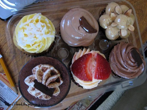 Cupcakes | La Crepe Fraiche - San Diego, CA