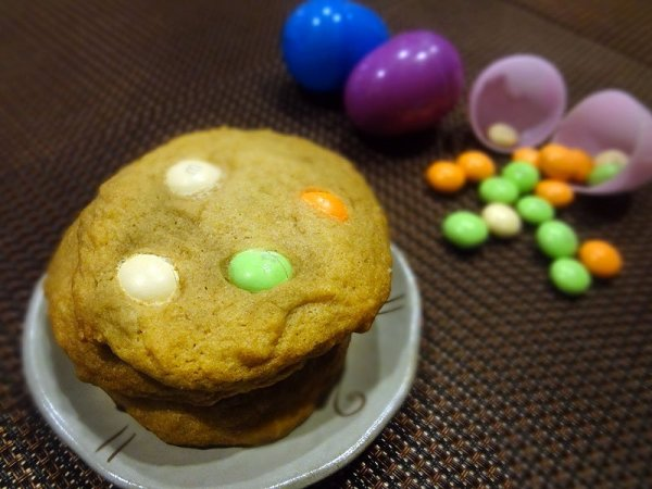 baked-carrot-cake-m-and-m-cookies