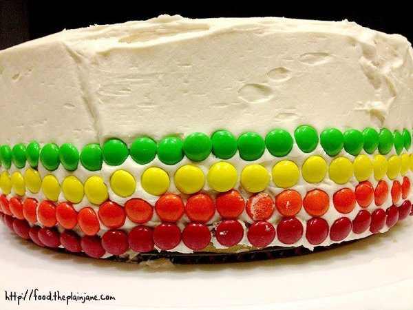 red-orange-yellow-green-cake