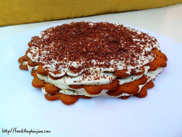 Almond Vanilla Ice Box Cake