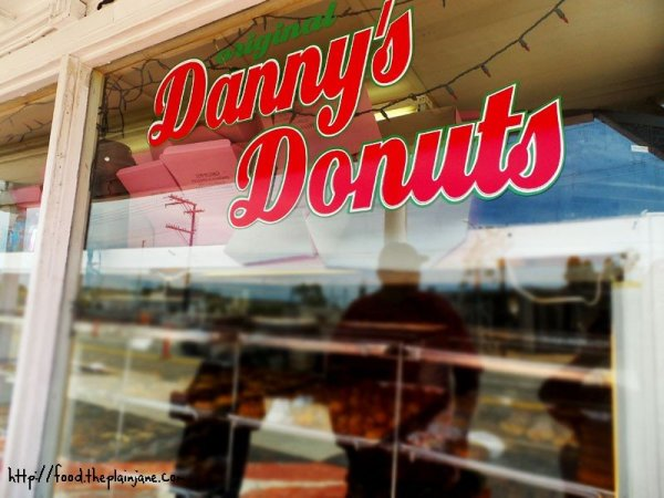 Danny's Donuts window - Vista, CA
