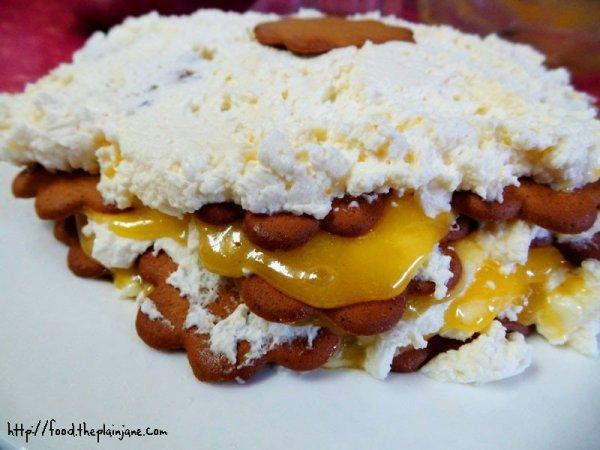 Lemon Ginger Ice Box Cake