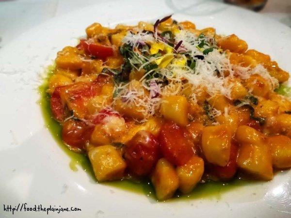 Gnocchi in tomato sauce / Solare - San Diego, CA