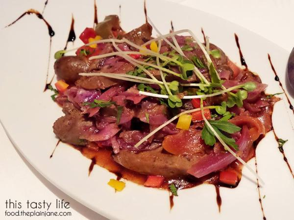 Wild Boar Sausage at Greystone Steakhouse | San Diego, CA | This Tasty Life