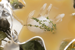 "Nadia's ""severed hand"" looks great in a Witches Brew cocktail punch"