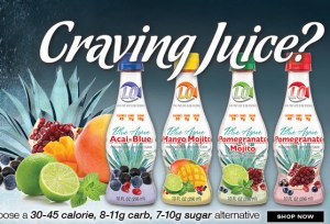 Delicious juices with low-glycemic index and low calories