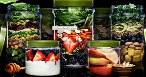 Farmers Fridge fresh mason-jar snacks and salads