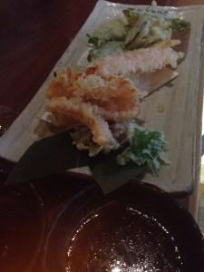 Roka Akor tempura