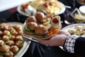 British Scotch eggs, sandwiches and cheeses - courtesy of Christina Slaton