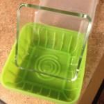 Glass insert