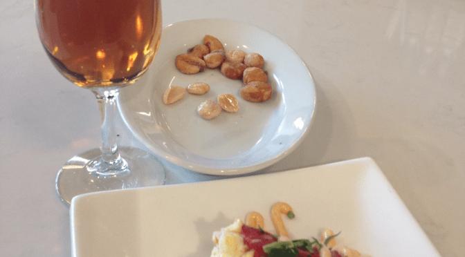 Amontillado sherry and tuna-stuffed pepper