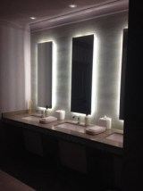 Even the powder rooms are cool at The Kimpton Gray Hotel
