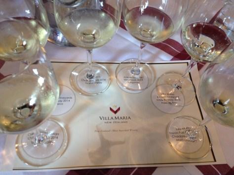 Luxury white wine comparison