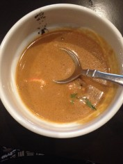 Knife's deeply rich lobster bisque