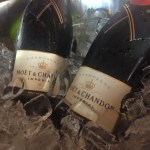 Famous French champagne