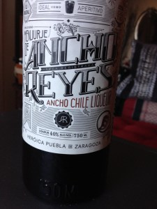 Ancho Reyes Chile Liqueur for something different