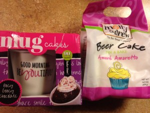 molly&drew Mug Cake mixes and beer mixes are fun and easy