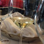 Moscato d'Asti - lovely pale colors, light fizz, gentle sweetness
