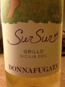 Donnafugata SurSur - light and lovely Grillo white