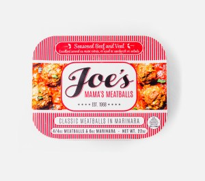 Look for Joe's Mama's Meatballs in your grocer soon!