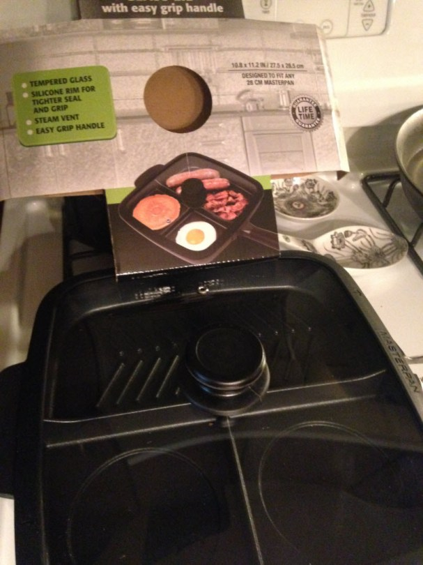 Masterpan vented lid fits perfectlly on all types