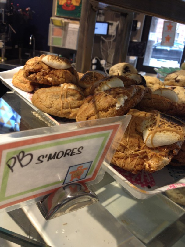 S'Mores - the cookie that won the Food Network challenge