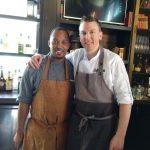 Chef team Cedric and Eric