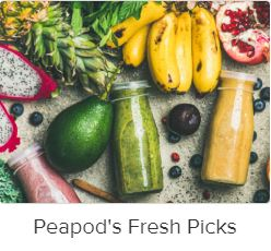 Peapod fresh picks