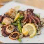 Trattoria Gianni roast seafood