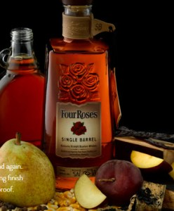 Four Roses single barrel whiskey