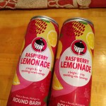 Get on board with Round Barn's raspberry lemonade sparkler