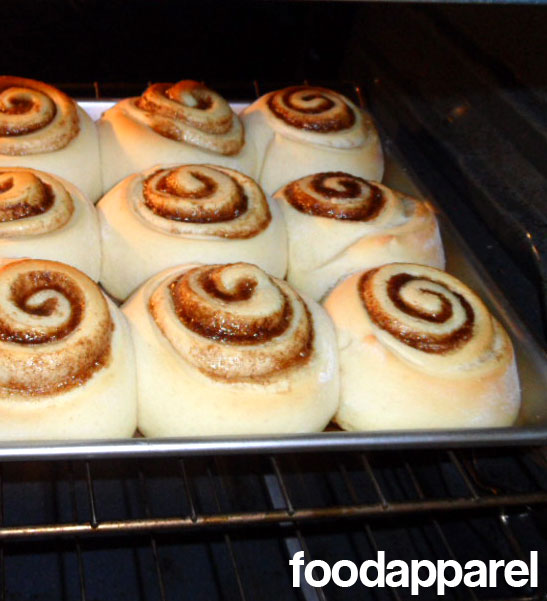 Cinnabon Style Cinnamon Rolls on FoodApparel.com