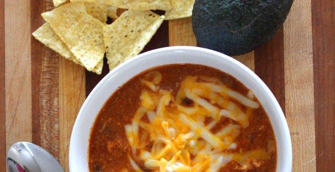 Zupa's Copycat Crockpot Chicken Enchilada Soup Recipe