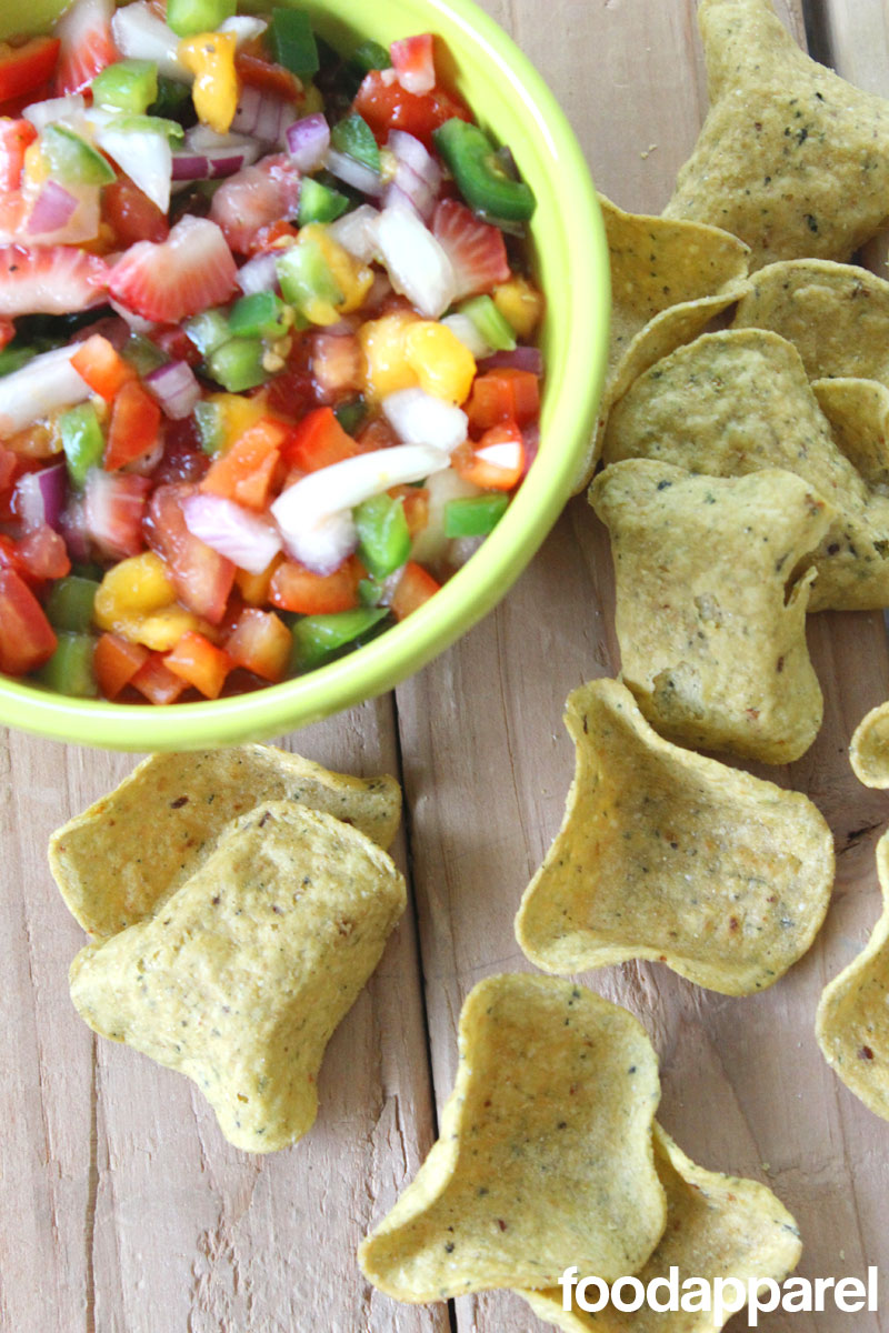 Fresh Strawberry Nectarine Salsa at FoodApparel.com