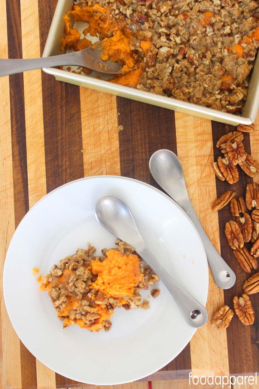 delicious Sweet Potato Casserole that's not overly sweet, just ...